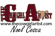 Noel Cosca the cowgirl artist